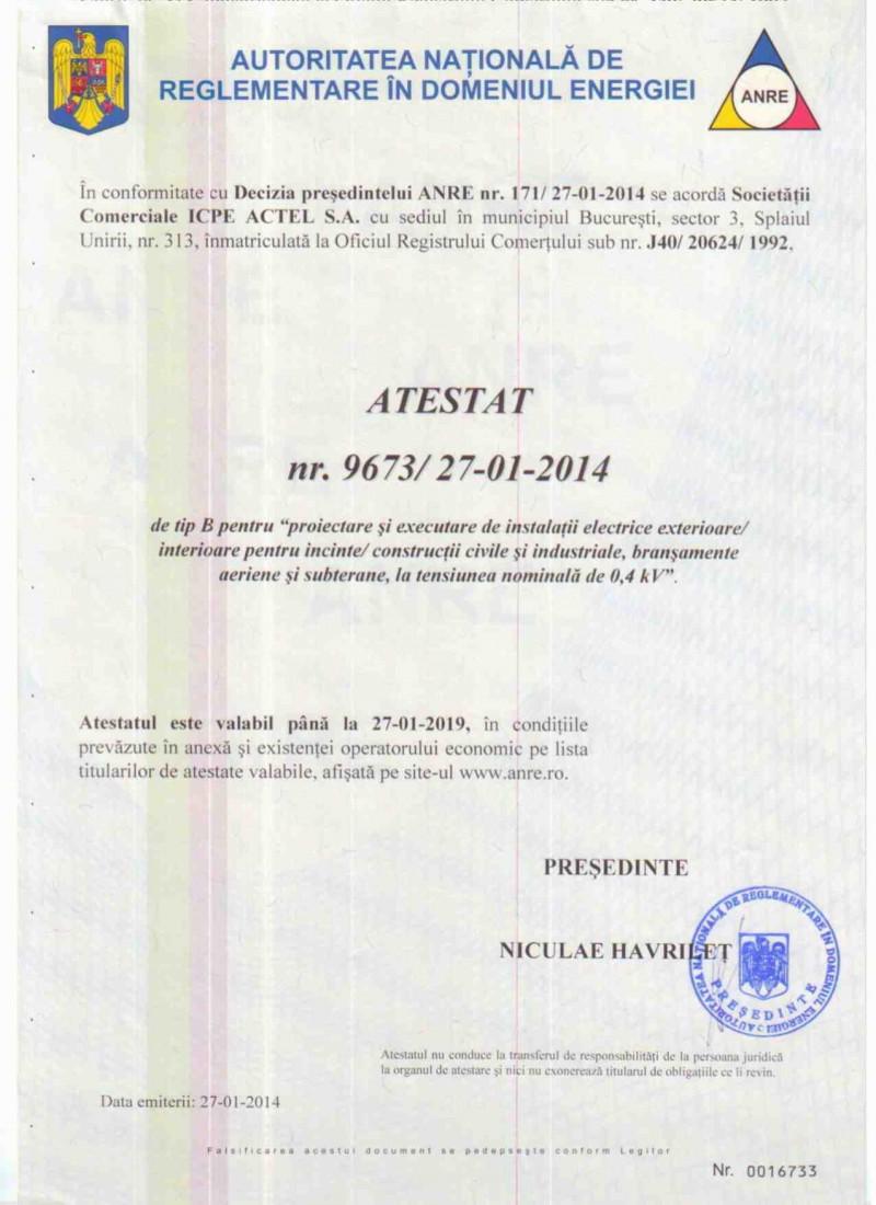 icpe-actel-certificate-Atestat ANRE